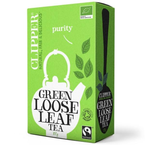 Βιολογικό Πράσινο Τσάι 100 γρ, Bio Clipper