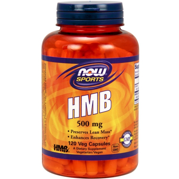 HMB 500 mg - 120 Vcaps® Now Foods