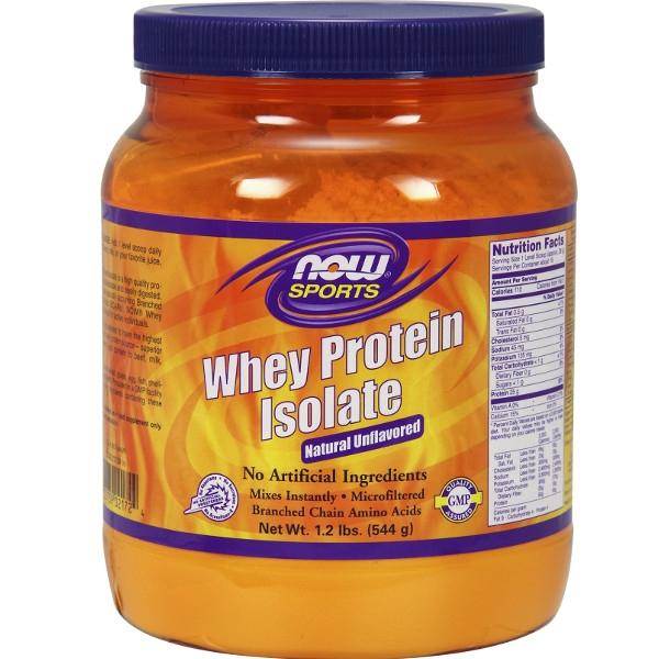 Πρωτεΐνη Whey Isolate 544γρ Now Foods