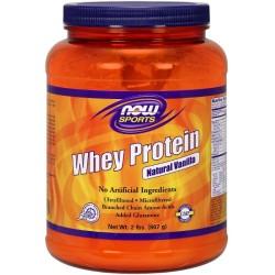 Πρωτεΐνη Whey Isolate με Γεύση Βανίλια 907γρ Now Foods