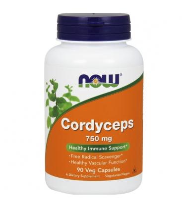 Συμπλήρωμα Cordyceps 750 mg 90Vcaps Now Foods