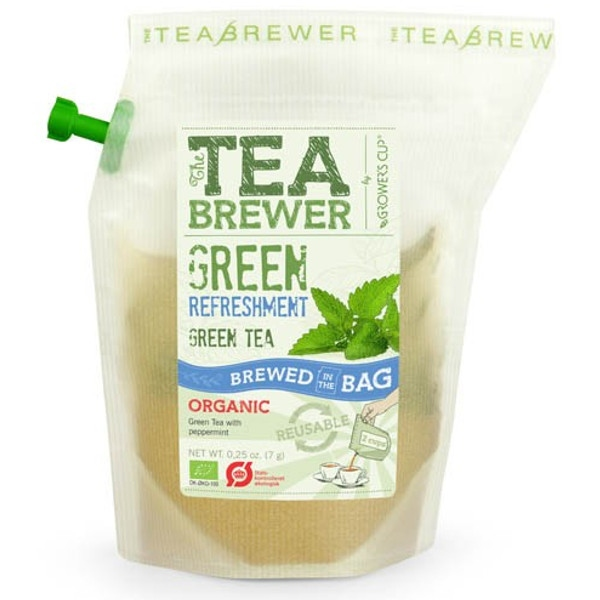 Βιολογικό Τσάι Green Refreshment 9γρ Bio Teabrewer