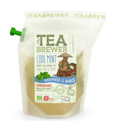 Βιολογικό Τσάι Cool Mint 9γρ Bio Teabrewer