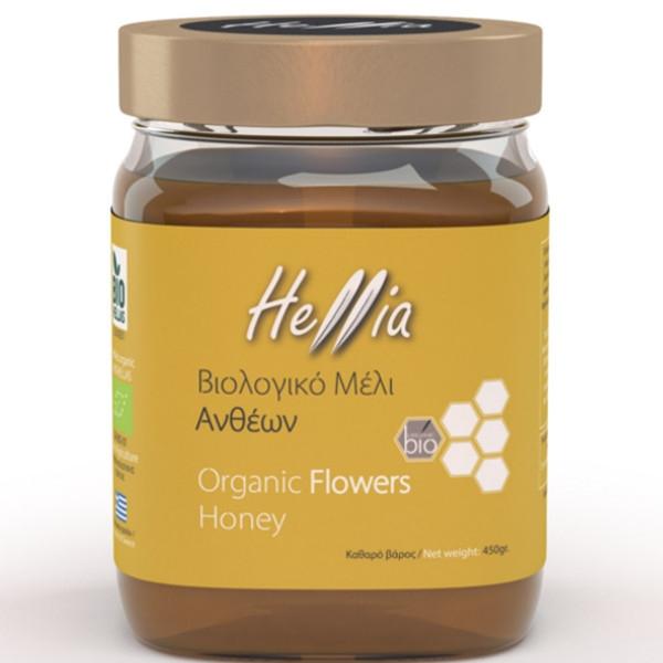 Βιολογικό Μέλι Ανθέων 450γρ. Bio Ελληνικό, Hellia