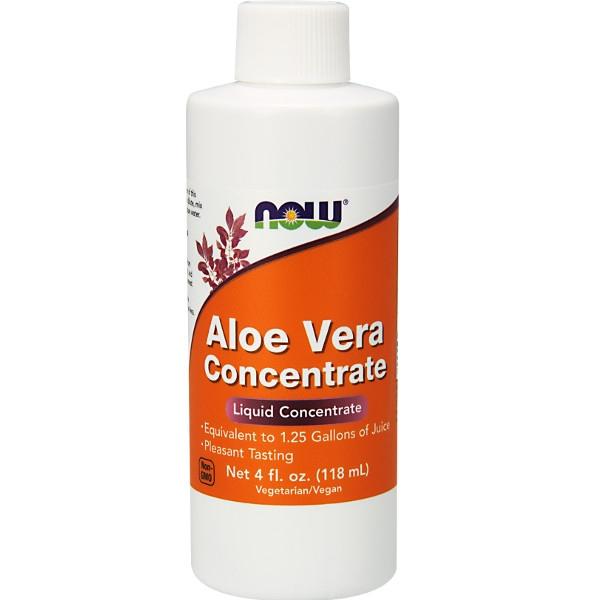 Aloe Vera Συμπυκνωμένη 118ml (Ισοδυναμεί με 4,7 λίτρα) Now Foods