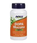 Dopa Mucuna 90 vegan κάψουλες Now Foods