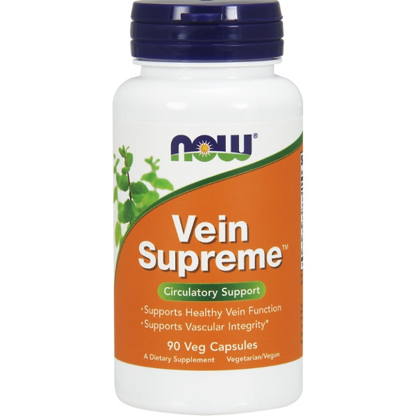 Συμπλήρωμα Vein Supreme™ 90 Veg Caps Now Foods