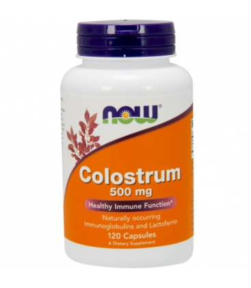 Colostrum 500mg 120 Vegan Κάψουλες Now Foods