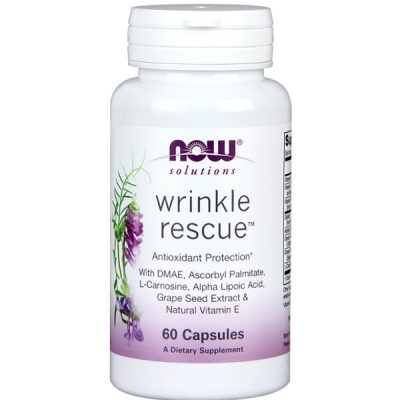 Wrinkle Rescue™ 60 Κάψουλες Now Foods