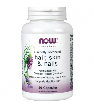 Hair, Skin & Nails 90 Κάψουλες Now Foods