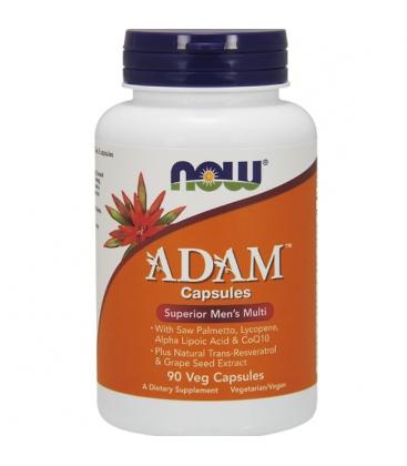 ADAM™ Men's Multiple Vitamin 90 Vegan Κάψουλες Now Foods