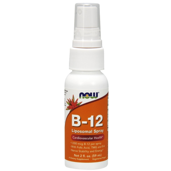 Βιταμίνη B-12 Liposomal Spray Now Foods