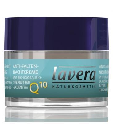 Βιολογική Κρέμα Νυχτός Q10 με Αντιγηραντική Δράση 50ml Basis Sensitive, Lavera