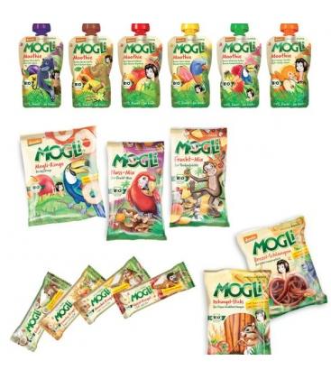 Βιολογικά Μπισκότα με Κακάο Χωρίς Ζάχαρη Bio 15γρ., Mogli