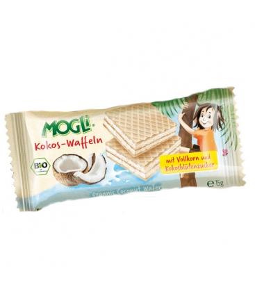 Βιολογικά Μπισκότα με Καρύδα Χωρίς Ζάχαρη Bio 15γρ., Mogli
