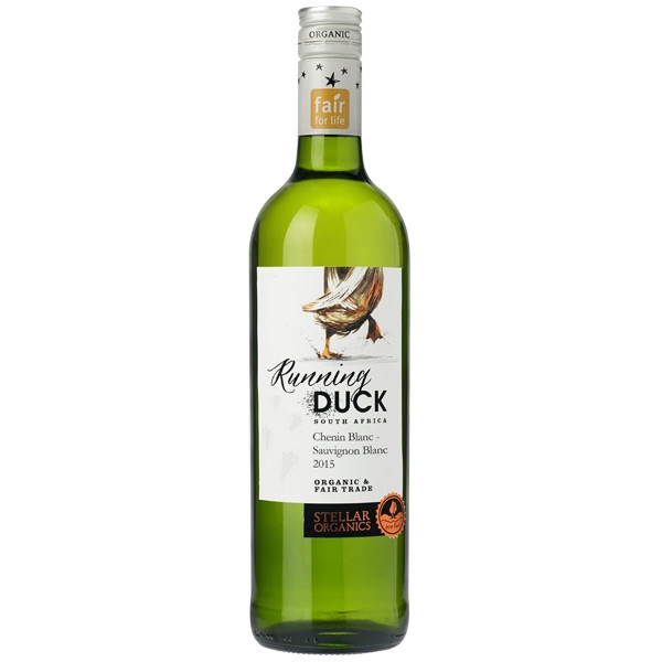 Βιολογικός Οίνος Λευκός Chenin Blanc Sauvignon Bio 750ml Running Duck, Stellar Winery