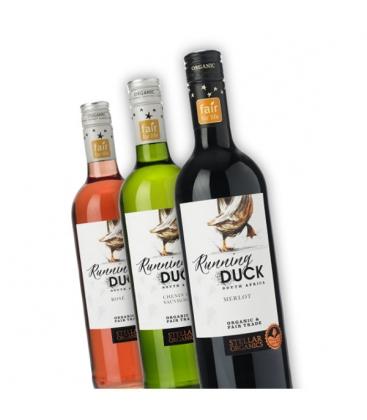 Βιολογικός Οίνος Λευκός Chenin Blanc Sauvignon Bio 750ml Running Duck, Stellar Winery