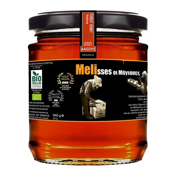 Βιολογικό Μέλι Δάσους Χολομώντα Bio 940γρ., Ελληνικό, Μέλισσες οι Μάγισσες