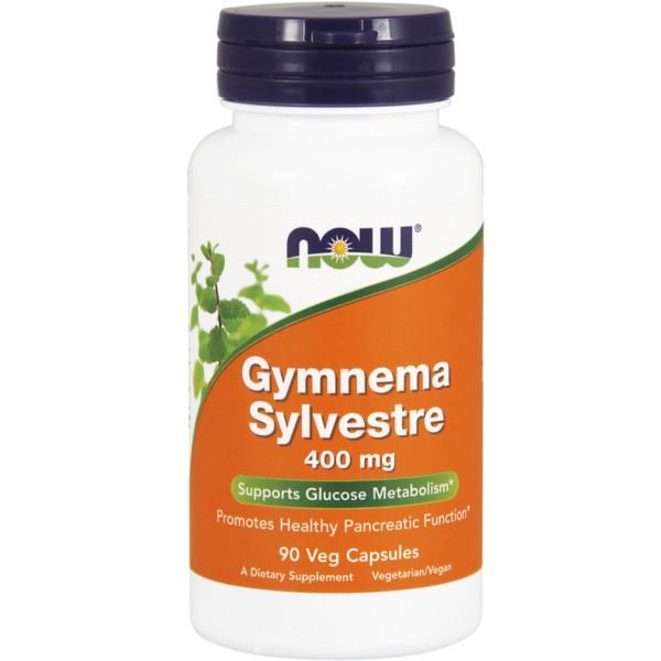 Gymnema Sylvestre 400 mg 90 Vegan Κάψουλες Now Foods