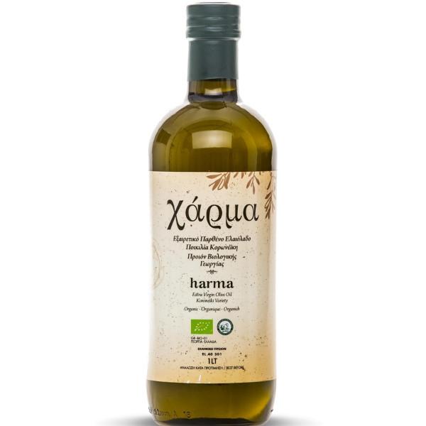 Βιολογικό Εξαιρετικό Παρθένο Ελαιόλαδο Χάρμα 1lt, Ελληνικό, Brand