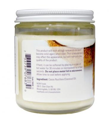 Λάδι Καρύδας 7 oz (207 ml) Now Foods