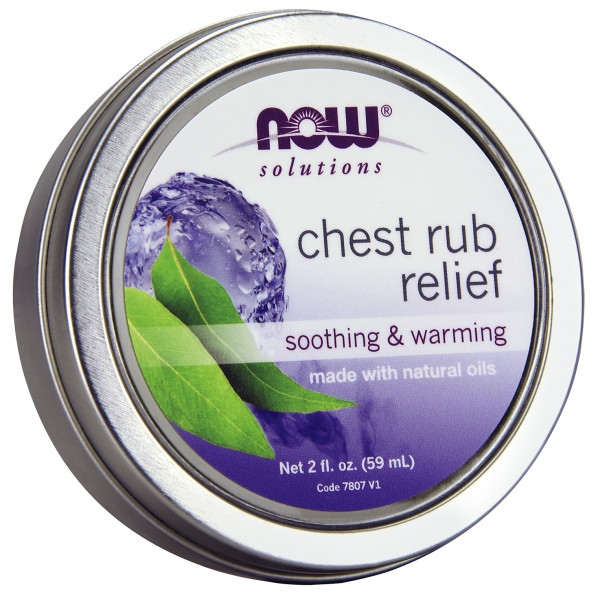 Αλοιφή Chest Rub Relief 59ml Now Foods