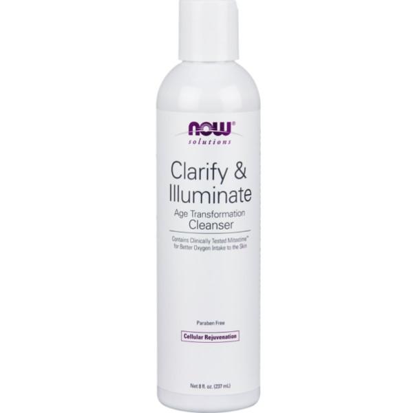 Καθαριστικό Προσώπου Clarify & Illuminate 237ml Now Foods