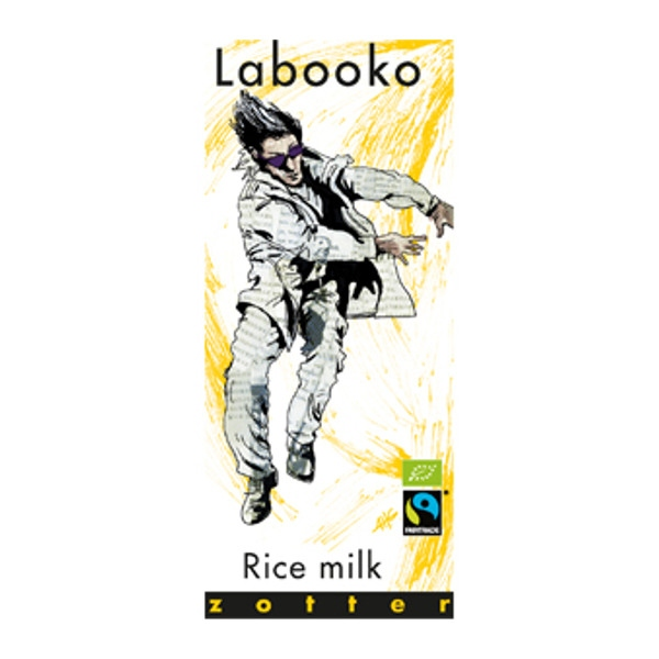 Βιολογική Σοκολάτα Ρυζιού Bio 70γρ Labooko Zotter