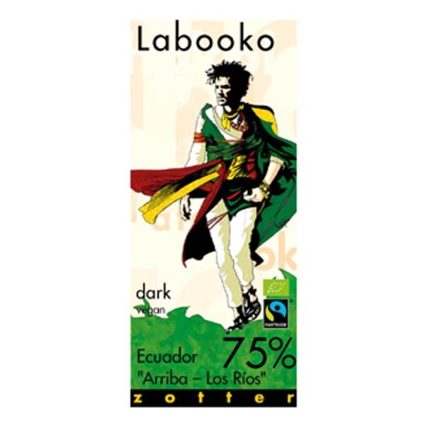 Βιολογική Σοκολάτα Ecuador 75% Bio 70γρ Labooko Zotter
