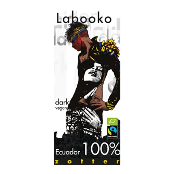 Βιολογική Σοκολάτα Ecuador 100% Bio 65γρ Labooko Zotter