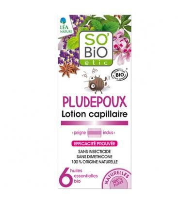 Βιολογική Λοσιόν Θεραπευτική για τις Ψείρες 100ml, So Bio