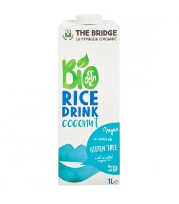 Βιολογικό Ρόφημα Ρυζιού με Καρύδα 1lt Bio The Bridge