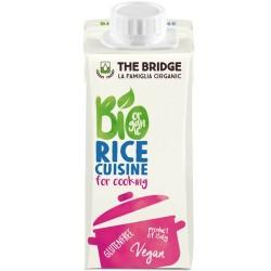 Βιολογική Κρέμα Γάλακτος Ρυζιού 200ml Bio The Bridge