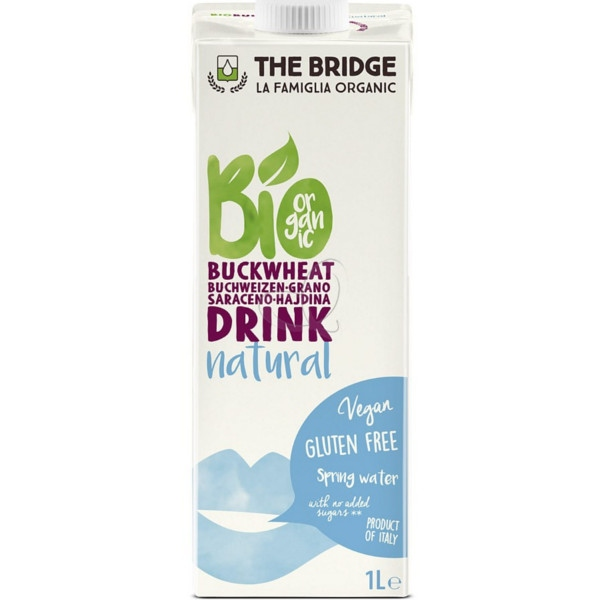 Βιολογικό Ρόφημα Φαγόπυρου 1lt Bio The Bridge