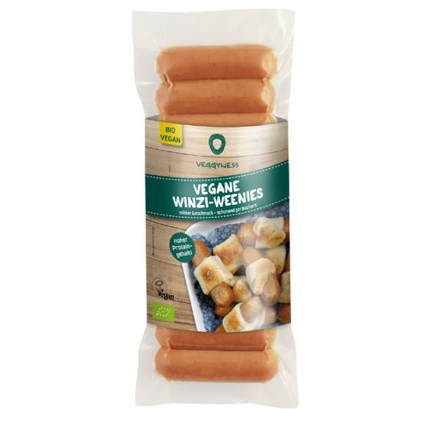 Βιολογικά Λουκανικάκια Χορτοφαγικά Hot Dog Bio 200γρ., Veggyness