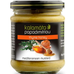 Μουστάρδα με Θυμαρίσιο Μέλι 200ml, Ελληνική, Παπαδημητρίου