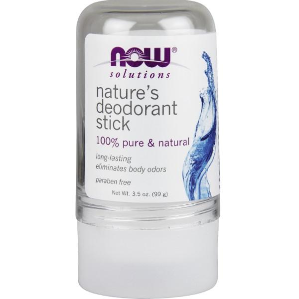 Φυσικός Αποσμητικός Κρύσταλλος σε Στικ 99gr Now Foods