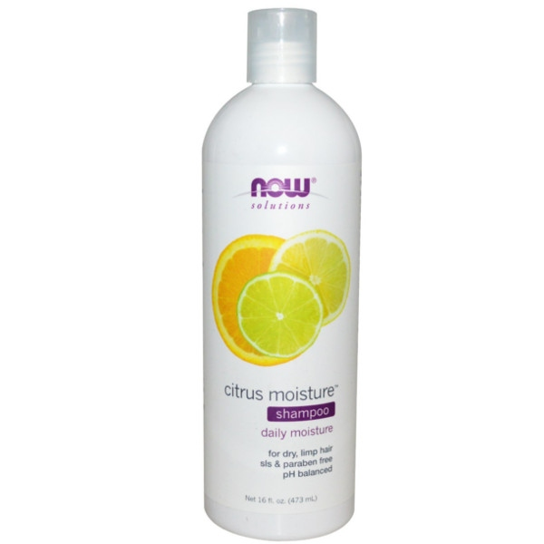 Ενυδατικό Conditioner Citrus Moisture 473ml Now Foods