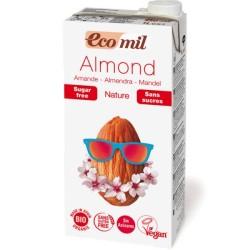 Βιολογικό Ρόφημα Αμυγδάλου Φυσική Γεύση Βιολογικό 1 λίτρο, Ecomil