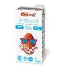 Ρόφημα Αμυγδάλου Βιολογικό με Ασβέστιο Χωρίς Ζάχαρη 1lt, Ecomil