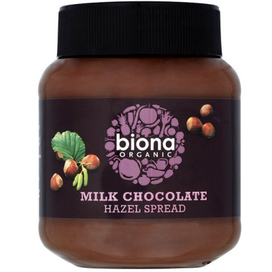 Βιολογικό Επάλειμμα Σοκολάτας Γάλακτος με Φουντούκι Bio 350γρ., Biona
