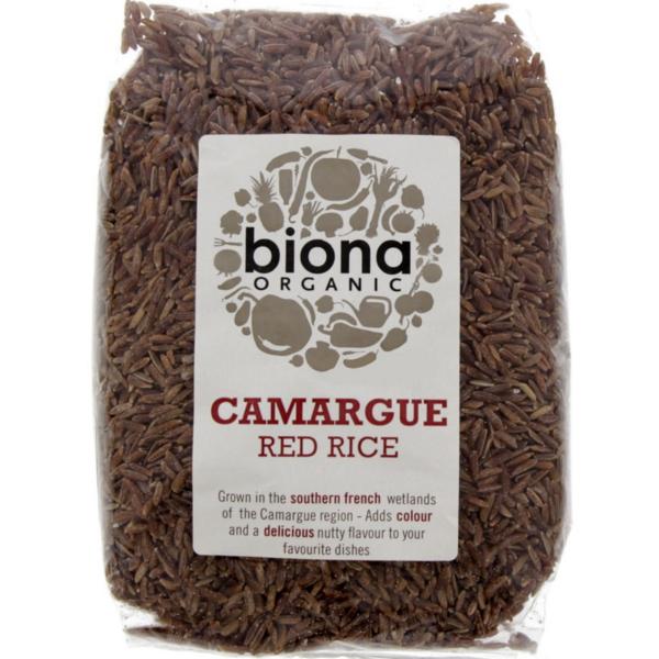 Βιολογικό Ρύζι Κόκκινο Camargue Bio 500γρ., Biona
