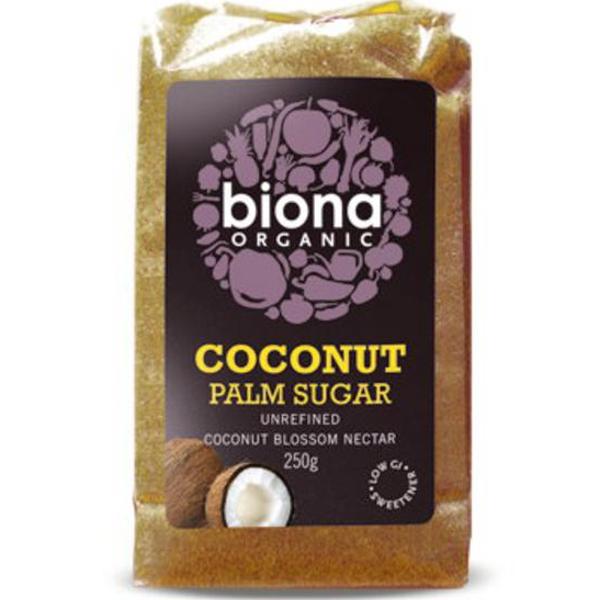 Βιολογική Ζάχαρη Καρύδας Bio 250γρ., Biona