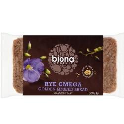 Βιολογικό Ψωμί Σίκαλης με Λιναρόσπορο Bio 500γρ., Biona
