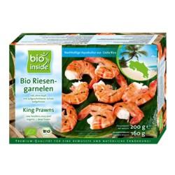 Βιολογικές Γαρίδες Βασιλικές Bio 200γρ., Bio Inside