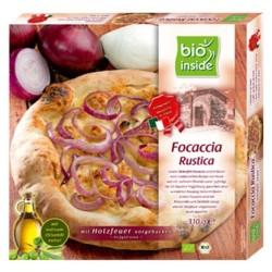 Βιολογική Πίτσα Rustica με Μοτσαρέλα & Κρεμύδια Κατεψυγμένη 310γρ., Bio Inside