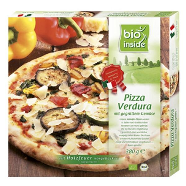 Βιολογική Πίτσα Verdura Λαχανικά & Παρμεζάνα Κατεψυγμένη 380γρ., Bio Inside