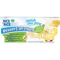 Βιολογικό Eπιδόρπιο Ρυζιού Βανίλια Χωρίς Γλουτένη 2x100γρ. Rice Rice, Probios