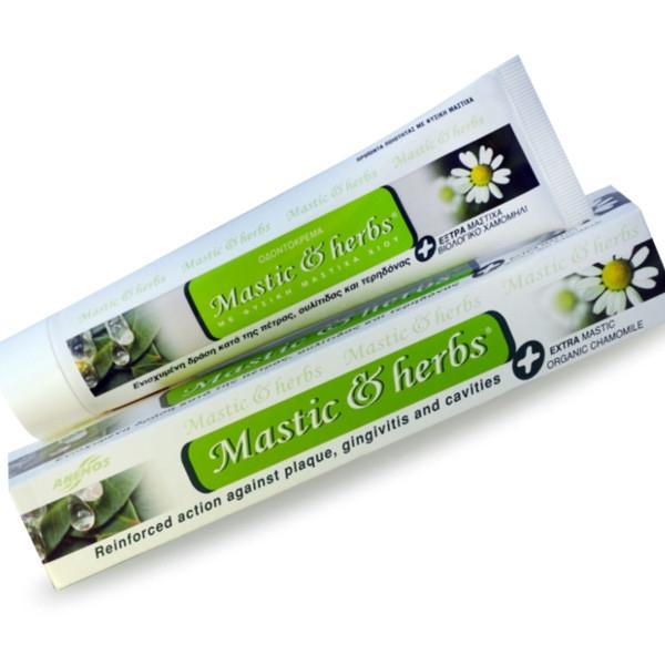 Οδοντόκρεμα Χωρίς Φθόριο με Μαστίχα & Χαμομήλι 75ml , Ελληνική, Άνεμος