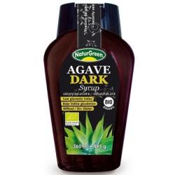Βιολογικό Σιρόπι Αγαύης Σκούρο 360γρ., Naturgreen